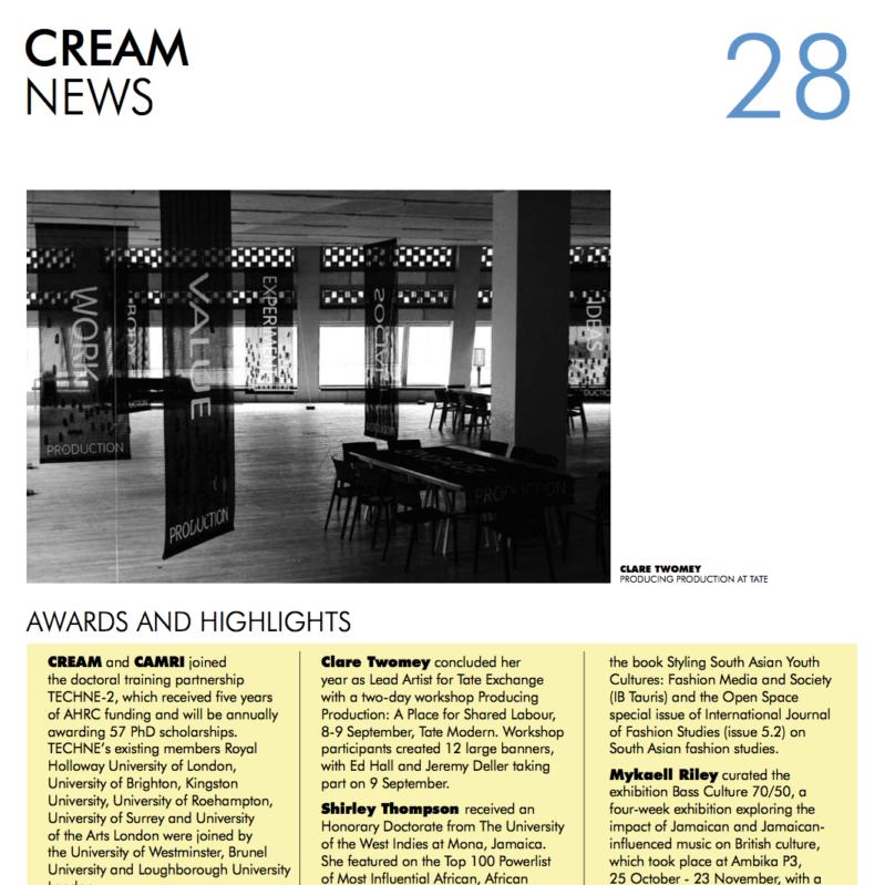 CREAM News 28